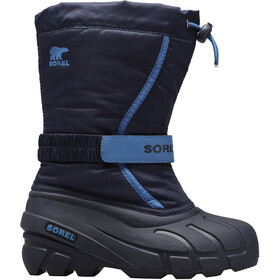 Sorel Flurry Bottes Adolescents, black/super blue